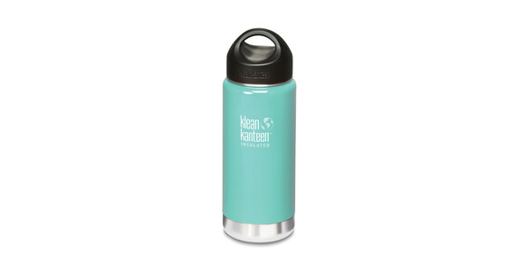 Termo Klean Kanteen Wide Insulated Loop Cap 473 ml turquesa